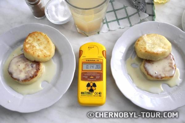 Чернобыльская АЭС, столовая